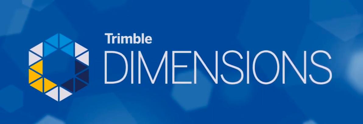 TRIMBLE DIMENSIONS 2020 - CANCELLED